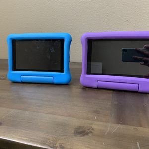 TWO Kindle Fire Kids Tablets for Sale in Seattle, WA