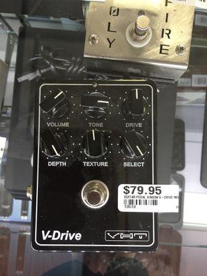 V-Drive guitar pedal for Sale in Scottsdale, AZ