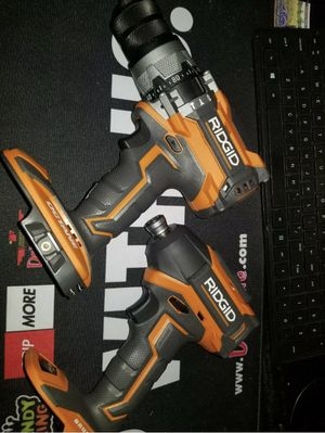 RIDGID octane brushless drill and impact driver tools only new for Sale in St. Petersburg, FL