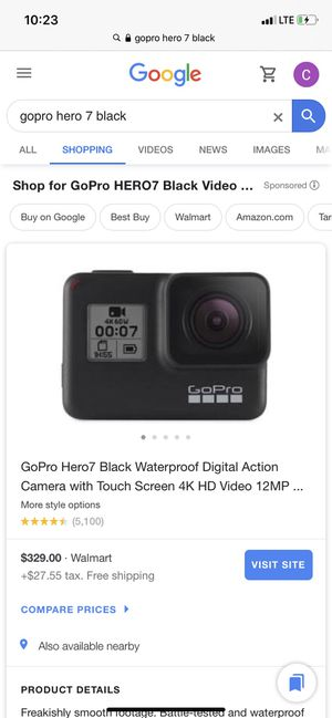 Go pro here 7 black edition for Sale in Oakdale, CA