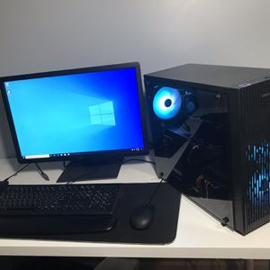 Gaming/streaming pc setup i5+rx580 8gb for Sale in Jacksonville, FL
