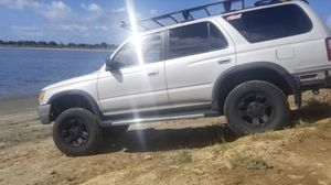 """6 Tires - 17"""" black rims for Sale in San Diego, CA"""