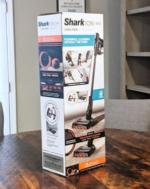SHARK ION X40 CORD-FREE Ultra-Light Stick vacuum like Dyson for Sale in Durham, NC
