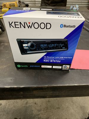 Bluetooth Radio Brand New Kenwood for Sale in Huntersville, NC