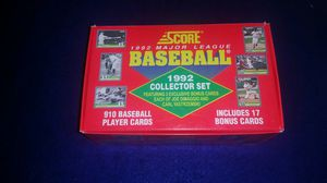 1992 complete set score trading cards baseball for Sale in Murphysboro, IL