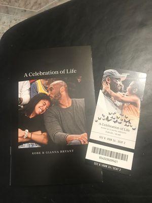 Kobe celebration for Sale in Downey, CA