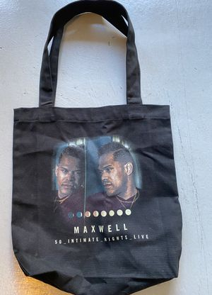 Maxwell Concert tote bag for Sale in Martinez, CA