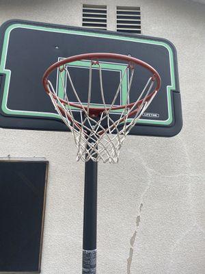 Adjustable basketball 🏀 hoop for Sale in Fontana, CA