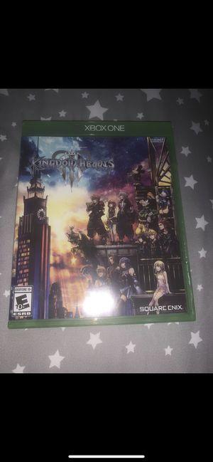 Kingdom hearts 3 Xbox one for Sale in Hesperia, CA