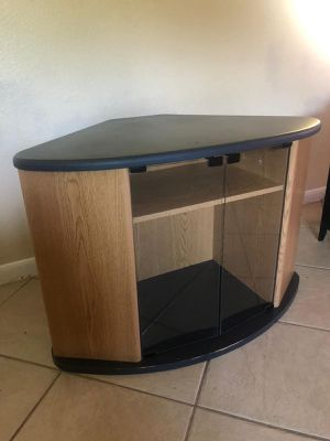 Corner tv stand for Sale in Sugar Land, TX