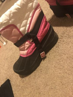 Polaris kids snow boots size 4 for Sale in Azle, TX