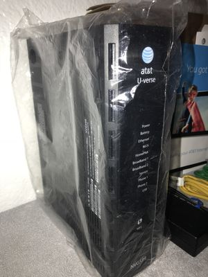 AT&T U-verse ARRIS Motorola NVG599 WiFi Gateway Home Modem Router Gateway - NEW for Sale in National City, CA