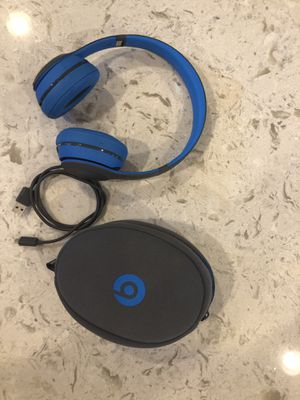 Beats Solo wireless headphones for Sale in Washington, DC