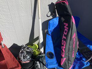 Girl softball gear for Sale in Grand Prairie, TX