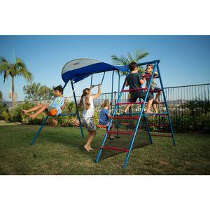 Iron kids activity center swing set for Sale in Riverside, CA