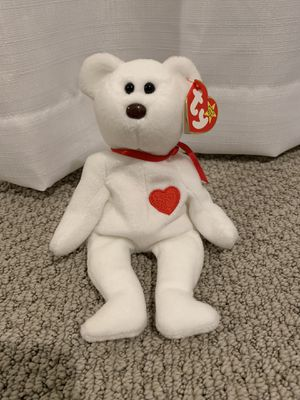 "Ty beanie baby ""Valentino"" bear for Sale in Menifee, CA"