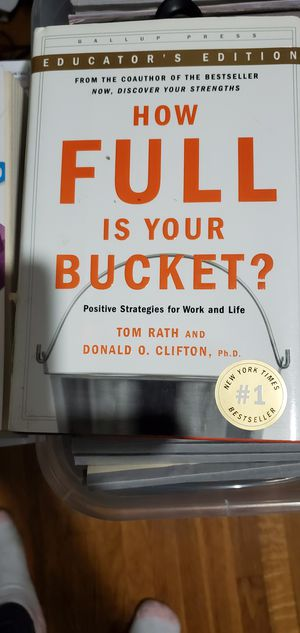 How Full is Your Bucket? for Sale in West Covina, CA