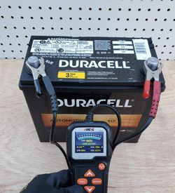 Car Battery Group Size 51R Duracell (2019)- $45 With Core Exchange/ Bateria Para Carro Tamaño 51R Duracell (2019) for Sale in Lynwood,  CA