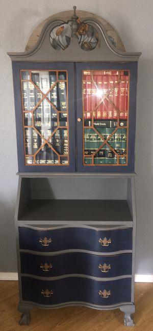 Vintage hidden bar secretary desk-price form for Sale in Lakeside, CA