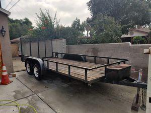 16 ft Aztek utility trailer for Sale in Montclair, CA