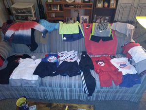 Brand New 2t kids clothes, Nike, Polo, Tommy Hilfiger, Addidas Sumer clothes outfits half price off 10 outfitsfor $150 for Sale in Minneapolis, MN