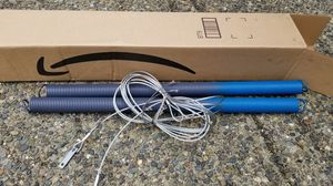 Ideal security sk71ssp2 garage door springs with cables, 140 pound 2 pack for Sale in Issaquah, WA