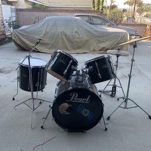 Pearl Export Series Drum Set 8-piece for Sale in La Puente, CA