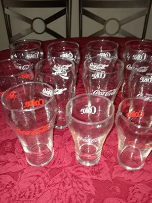 Eleven Coca-Cola Glasses//$6 For All for Sale in Cleveland, OH