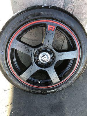 16 inch rims motegi racing mr116 rims bf Goodrich tires for Sale in Los Angeles, CA