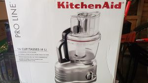 NIB Kitchen Aid Processor for Sale in Lincoln, NE