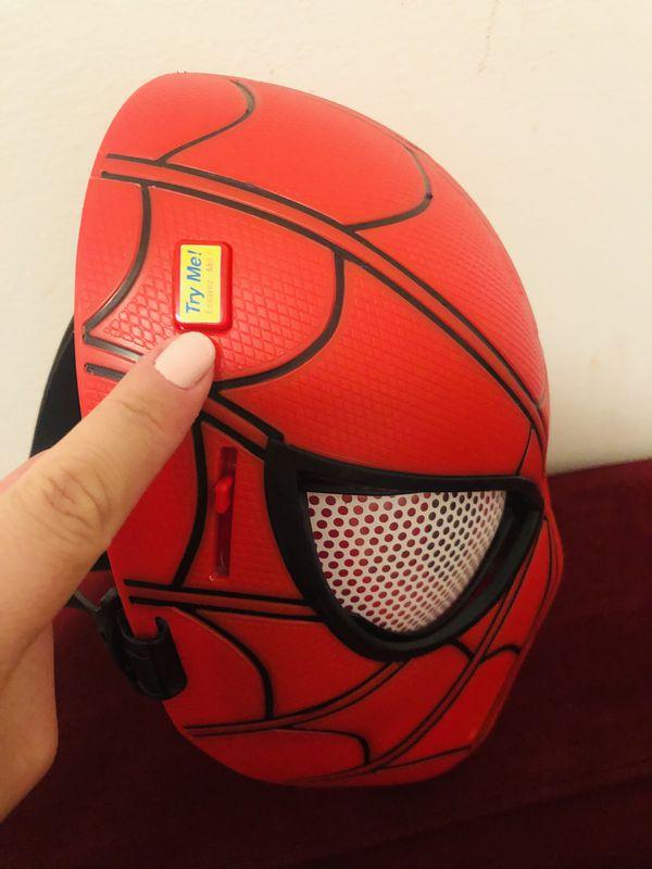 Spider Man Mask for toddler boy