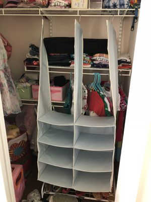 Closet organizer/divider for Sale in Herndon, VA