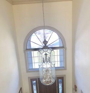 Brass chandelier for Sale in Danville, PA