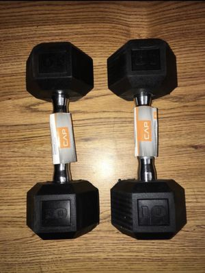 Weights set 10 lb dumbbells for Sale in Covina, CA