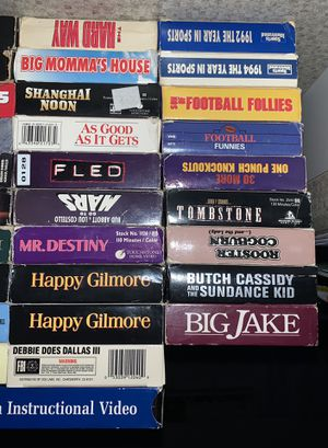 VHS Tapes! Make a bundle! Make some offers! for Sale in Westport, MA
