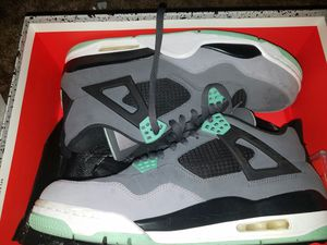 GREEN GLOW jordan 4s size 12 for Sale in Seattle, WA
