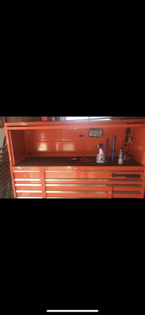 cornwell professional series tool box for Sale in Dearborn, MI