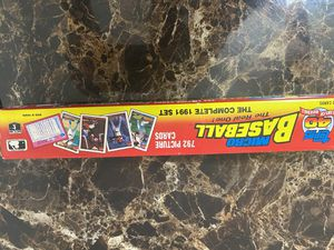 792 Mini Baseball Cards complete set of 1991 for Sale in El Paso, TX