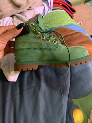Green Toddler Timberlands for Sale in Temple Hills, MD