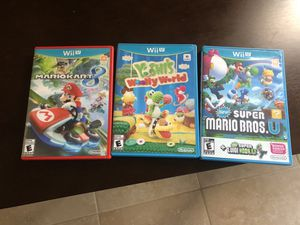 Wii U Games for Sale in Port St. Lucie, FL