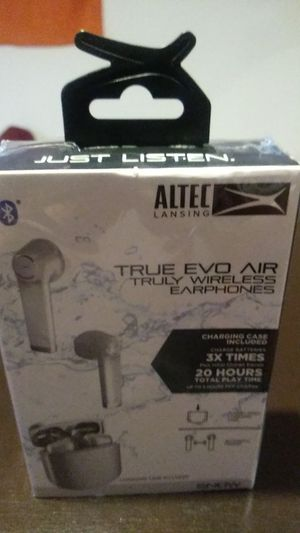 Altec lansing ,True Evo Air , wireless buds for Sale in Chantilly, VA
