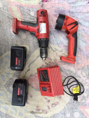 Milwaukee 18V Nic-Cad Tools for Sale in Clinton, MA