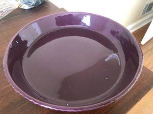 Purple cake plate for Sale in Washington, DC
