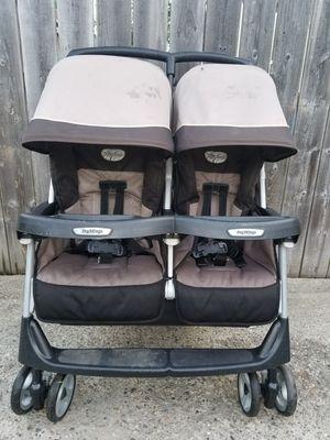 Peg Perego Aria 60/40 double stroller for Sale in Garden City, MI