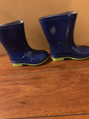 $8 New Kid's Blue Rain Boots Size 9 for Sale in Hayward, CA