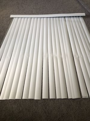 Patio blind 71x75 with replacement strips for Sale in Houston, TX