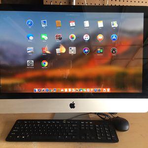 Apple iMac 27 inches - Like New - MacOS High Sierra for Sale in Huntington Beach, CA
