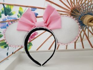 Pink & White Disney Ears for Sale in Lake Worth, FL