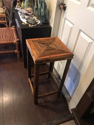 Rattan Plant Stand/Stool for Sale in Garden Grove, CA