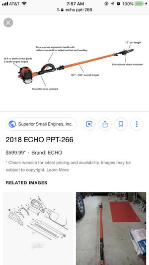 Slightly used echo ppt-266 for Sale in Baltimore, MD